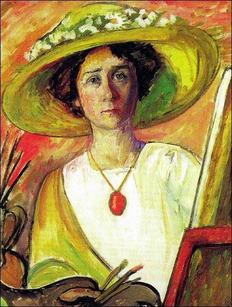 Gabriele Münter, artiste peintre allemande, fut co-fondatrice, avec Kandinsky et Franz Marc, d'un collectif d'artistes issus du mouvement expressionniste. Quel nom portait ce groupe ?