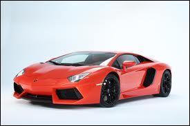 Quel est le nom de cette Lamborghini ?