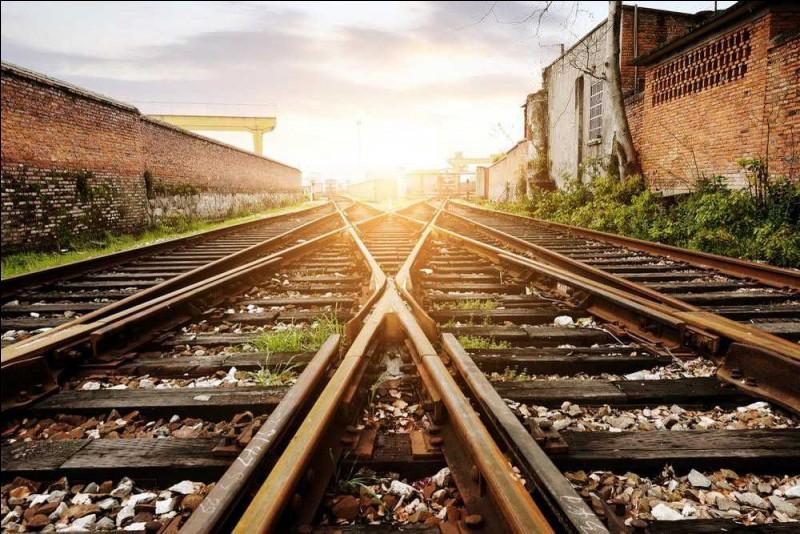 Dans ce quartier, la voie ferrée et l'avenue principale (se côtoyer) sur une longue distance.