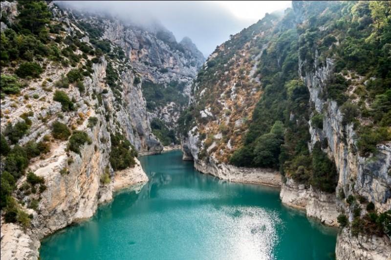 Les pagayeurs ne sont pas aguerris, et un rocher, situé près de la falaise, les (obliger) à virer en catastrophe.