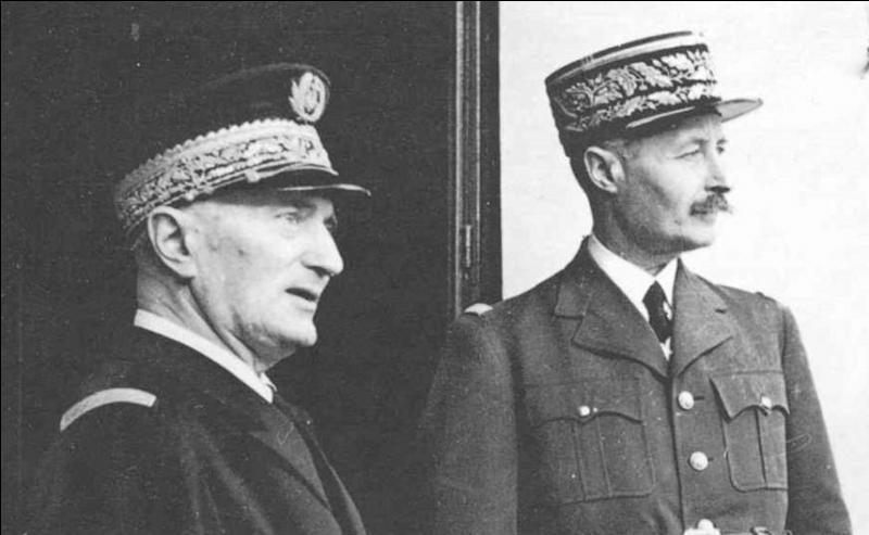 Le 18 avril, que se passe-t-il au niveau du gouvernement de Vichy ?