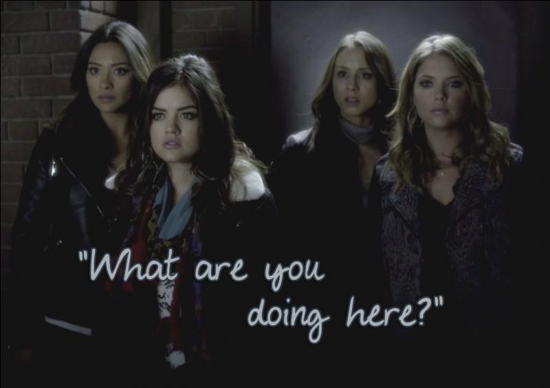 Épisode 23 : Qui découvrent-elles lorsqu'elles cherchent Alison à Philadelphie ? (suite avec le dernier épisode dans un prochain quiz)