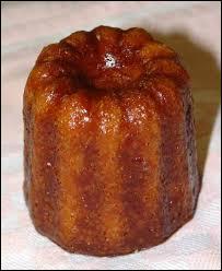 Le cannelé est un petit gâteau à pâte molle et tendre, parfumé au rhum et à la vanille. C'est la spécialité de la ville de ...