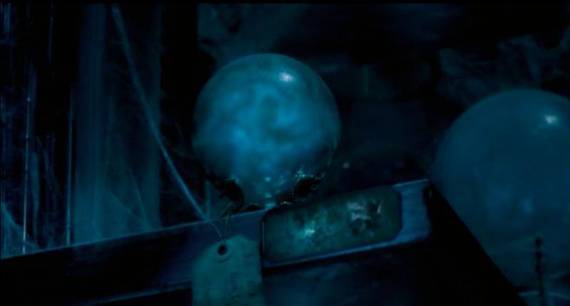 Au même moment, Severus Rogue, qui ne sait pas franchement comment contribuer dans la réussite de Lord Voldemort, est chargé de collecter des informations. Un jour, à l'auberge  La Tête de Sanglier , il entend une partie d'une prophétie formulée par Sybille Trelawney à Albus Dumbledore. D'après elle, à la fin de quel mois naîtra le garçon qui pourra vaincre le Seigneur des Ténèbres ?