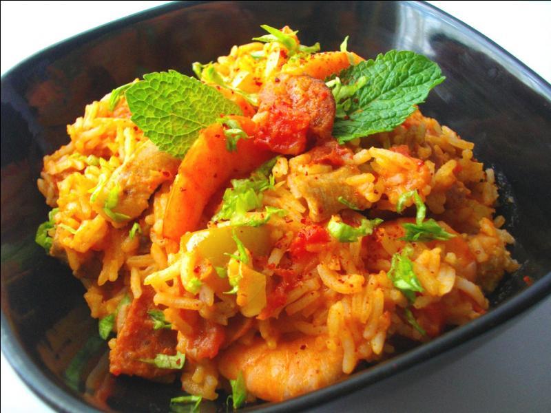 Quel est ce plat unique créole, à base de viandes et de riz épicé, qui est aussi le titre d'une chanson des Carpenters, reprise par Eddy Mitchell ?