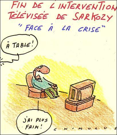 Face aux attentes des Français touchés par la crise, qu'a répété le chef de l'Etat jeudi soir pour expliquer la situation?
