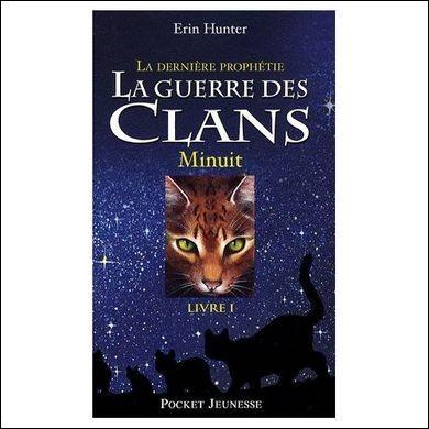 """Dans l'ancienne couverture de """"Minuit"""", quel est le chat dans le cadre central ?"""