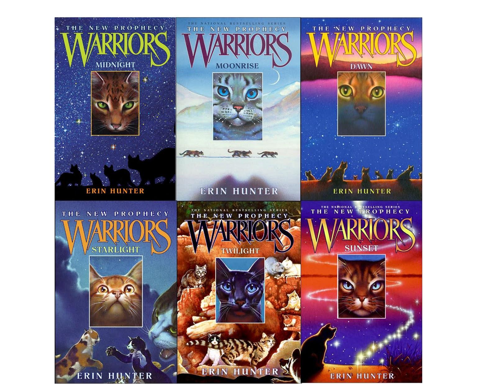 La guerre des Clans : couvertures du cycle 2