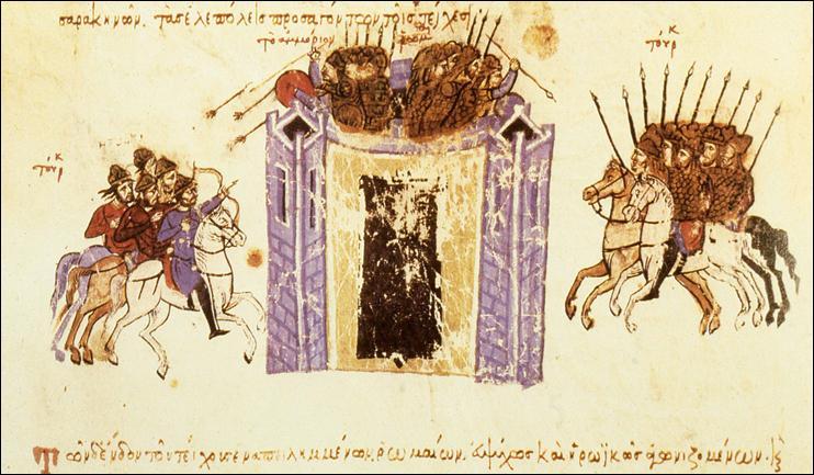 La siège qui se déroula de 1333 à 1337 aboutit à la prise de la ville par les Ottomans au détriment des Byzantins qui perdaient, là, leur dernier territoire asiatique.