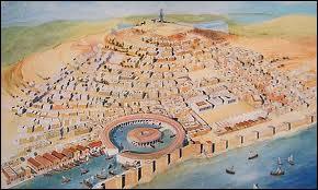 Durant la Troisième Guerre punique, les Romains assiègent 3 ans (-149 à -146) cette ville avant de la prendre, de la raser et de déporter en esclavage les survivants.