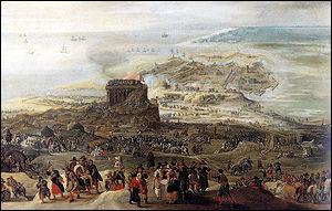 Ce siège (4 juillet 1601 - 22 septembre 1604) est probablement la bataille la plus sanglante de la guerre de Quatre-Vingts Ans et l'un des plus longs sièges de l'histoire. Il se termine par une victoire espagnole sur les Provinces-Unies.