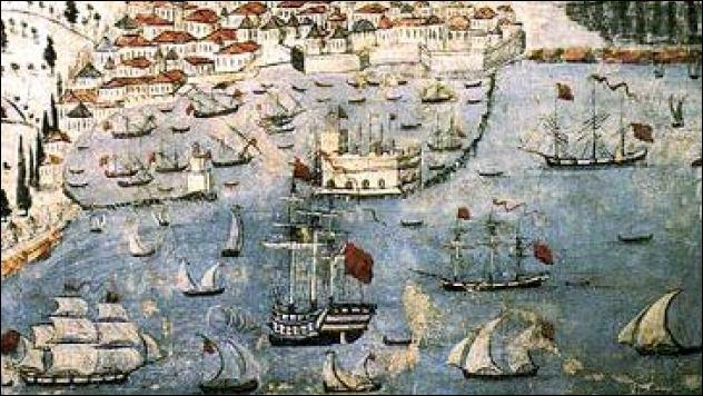 Le plus long siège de l'histoire, 21 ans de 1648 à 1669. Une garnison vénitienne assiégée par 200 000 turcs. Reddition en 1669, la garnison et la population sont autorisées à quitter librement la ville.