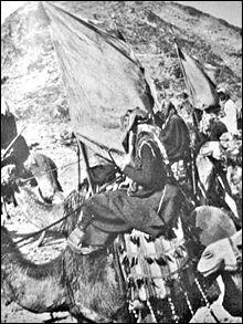 Long siège (juin 1916-janvier 1919). Le gouverneur ottoman Fahreddin Pacha ne cède sa place aux Arabes qu'après la chute du régime ottoman et sa capitulation. Les Arabes honorent les défenseurs en leur laissant leurs armes et leurs munitions. Ils sont évacués vers l'Égypte.