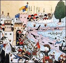 Ville Vénitienne assiégée par les Turcs de 1422 à 1430. La ville est prise d'assaut après un siège de huit ans. Les habitants, après le sac de la ville, peuvent retourner dans leurs maisons.