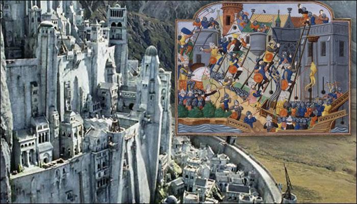 Le siège par le sultan Ottoman Bayezid Ier s'étale sur huit ans, de 1394 à 1402. Après huit ans d'efforts infructueux, et le sultan ayant été tué par les Mongols à la bataille d'Agora, son successeur Mehmed Ier abandonne le siège, signe la paix et restitue de nombreux territoires à l'Empire romain.