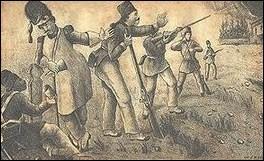 Siège de 8 ans de 1843 à 1851, entre les Colorados et les Blancs. La ville ne tombe pas, mais une paix favorable aux Colorados est signée en 1851.