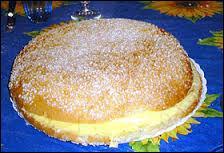 Pour finir, nous allons manger de la tarte tropézienne. C'est la spécialité de la ville de ...