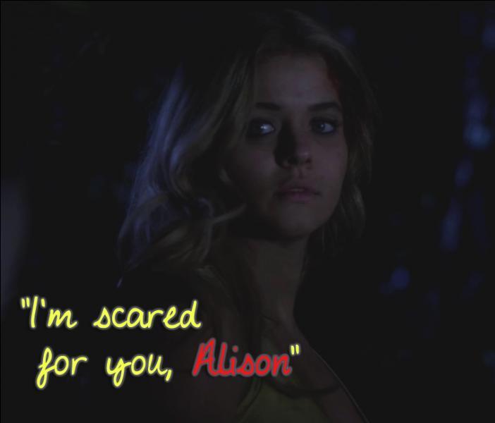 Qui va retrouver Alison et l' aider  ?