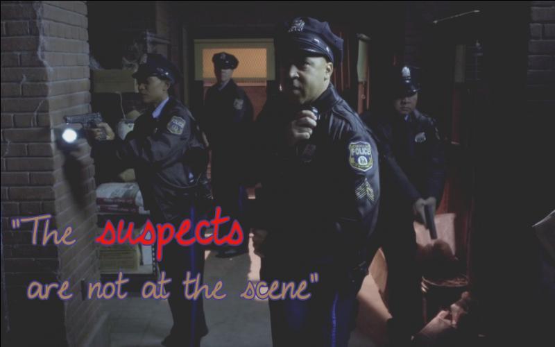 Où les policiers de Rosewood ont-ils trouvé la trace des filles, mais pas les filles elles-mêmes ?