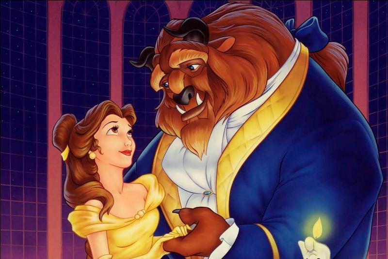 Quelle chanson montre que Belle commence à tomber amoureuse de la Bête ?