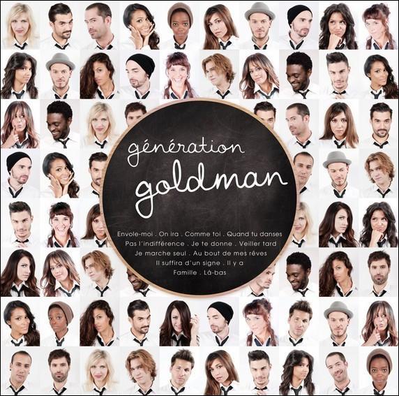 Quelles chansons a-t-elle interprétées pour 'Génération Goldman' ?