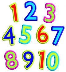Les expressions de 1 à 10