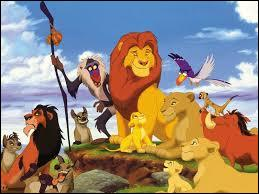 Quel est le titre de ce film d'animation où Simba va se venger de Scar ?