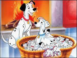 Quel est le titre de ce film d'animation où il y a plus de 100 chiens ?