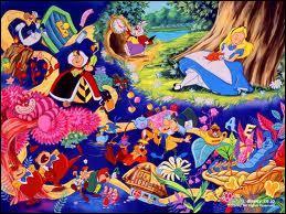 Quel est le titre de ce film d'animation où une petite fille va découvrir un monde mystérieux grâce à un lapin en retard ?