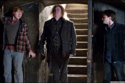 Ayant conduit les sorciers en lieu sûr, l'elfe de maison Dobby revient à grande vitesse seconder Harry Potter, toujours enfermé avec Ron Weasley dans les cachots. Face à ces mouvements incessants et ces agitations constantes, Peter Pettigrow perd patience et descend à nouveau vers la prison. Comment l'affrontement va-t-il bien pouvoir se terminer ?