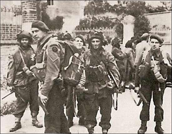 Sur quelle plage débarquèrent les premiers soldats français en Normandie ?