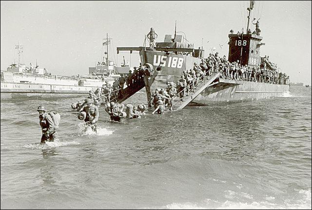 Alors que le débarquement de Normandie est un succès, un second débarquement a lieu dans le sud-est de la France. Quels étaient les deux principaux contingents ?