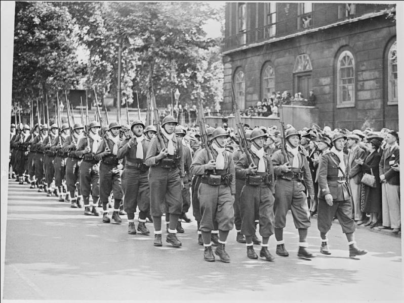 Quelle était la nationalité la plus représentée au sein de la légion étrangère durant tout le temps qu'aura duré la guerre ?