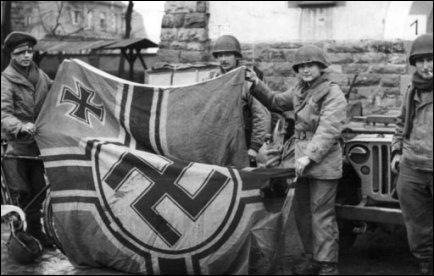 Quels furent les premiers soldats à pénétrer dans Berteschgaden ?