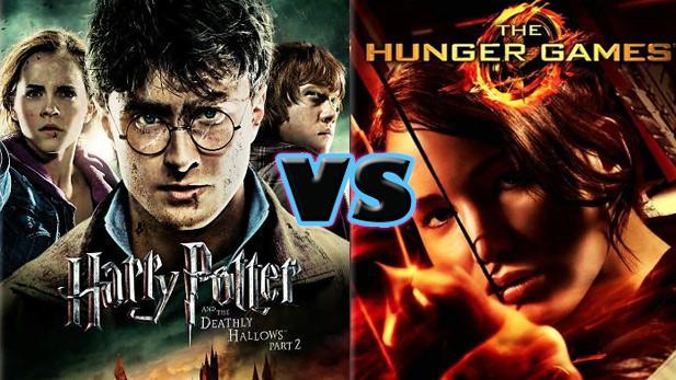 « Harry Potter » vs « Hunger Games »