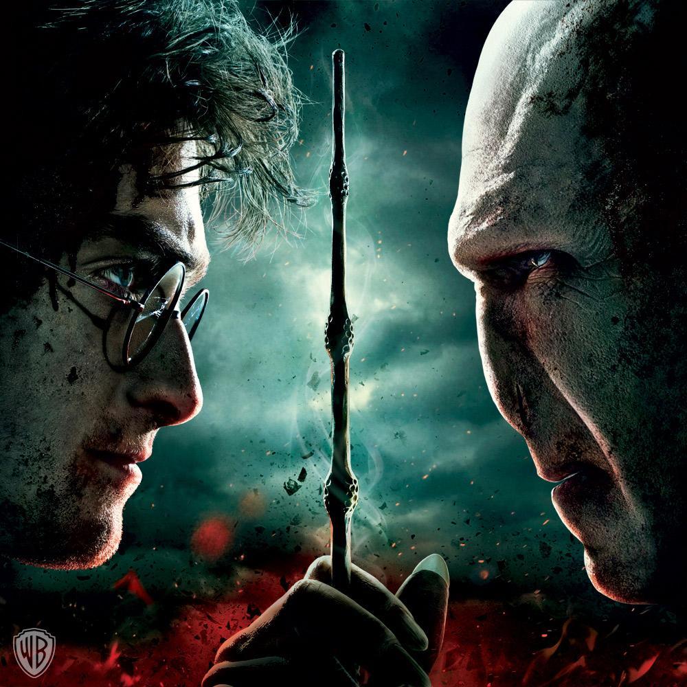 Harry Potter et Voldemort