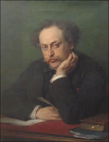 Personnage principal du roman  Le Comte de Monte-Cristo , publié en 1844, avec la collaboration d'Auguste Maqué (1813-1888) et Alexandre Dumas père (1802-1870), marin sur le point d'épouser la belle Mercedes, je suis enfermé à tort au château d'If, accusé de bonapartisme. Je m'évade avec un abbé richissime qui me lègue sa fortune à sa mort, j'entreprends de me venger de ceux qui m'ont calomnié.