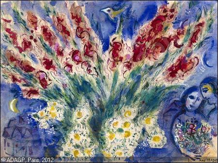 Qui a peint Les amoureux aux glaïeuls ?