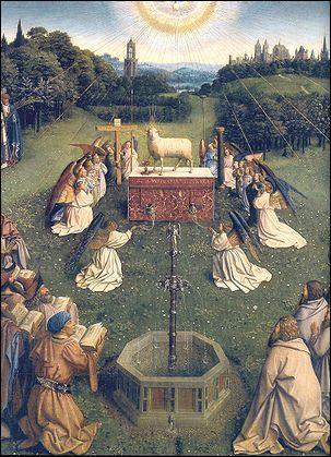 Qui a peint L'Agneau mystique ?