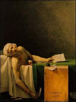 Qui a peint La Mort de Marat ?