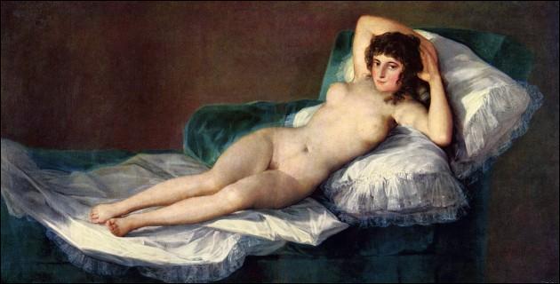 Qui a peint La Maja nue ?