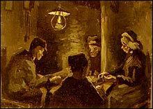 Qui a peint Les Mangeurs de pommes de terre ?