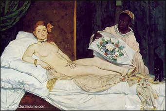 Qui a peint Olympia ?