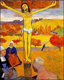 Qui a peint Le Christ jaune ?