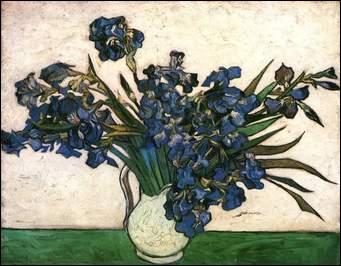 Qui a peint Les Iris ?