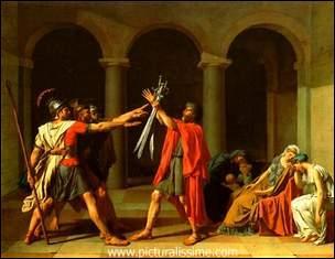 Qui a peint Le Serment des Horaces ?