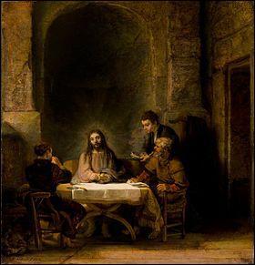 Qui a peint Les Pèlerins d'Emmaüs ?