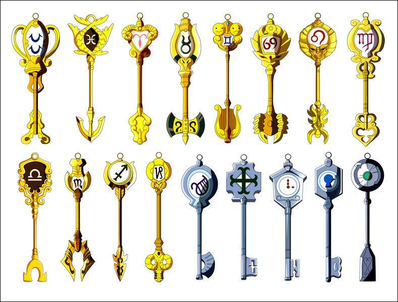 Quelles sont ces clés ? (arc du Grand Tournoi de la Magie)