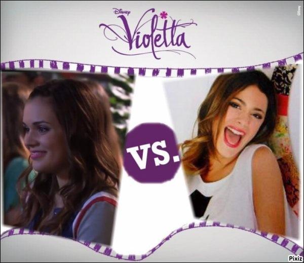 Violetta apprécie-t-elle Lara ?