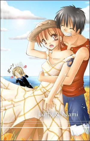 Quel est ce couple tiré de  One Piece  ?